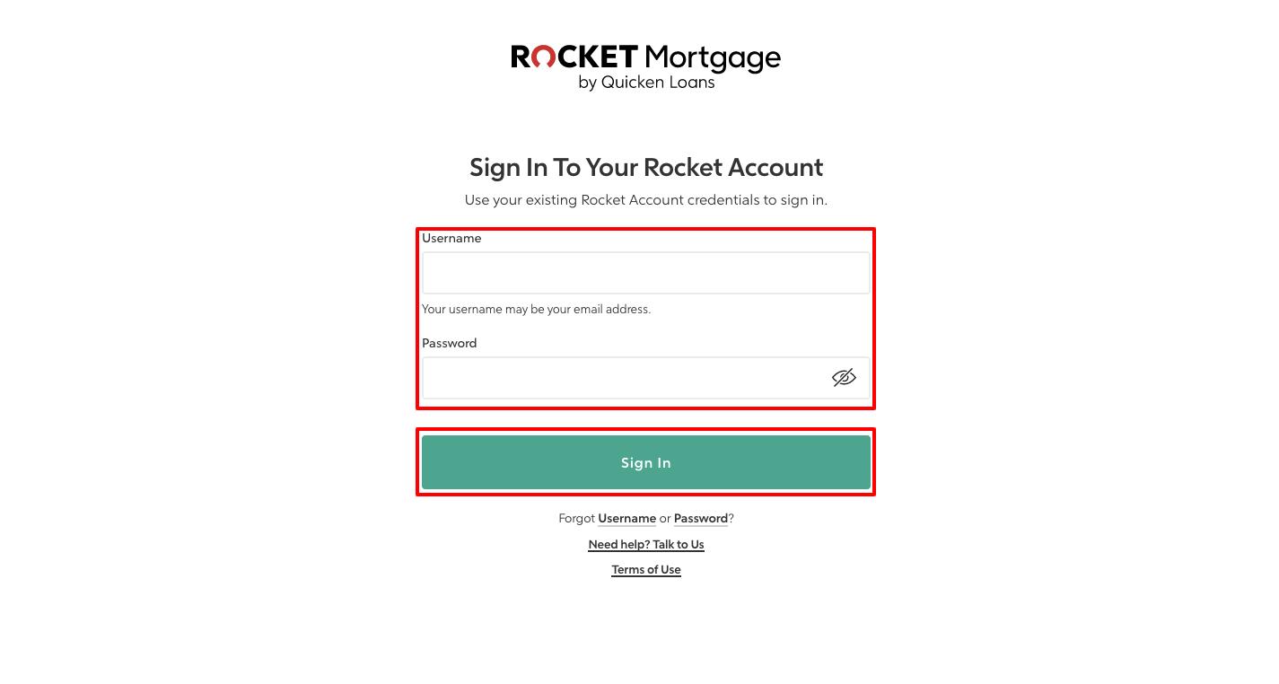 Rocket Mortgage Login